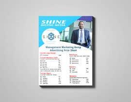 #40 for design digital flyer (((price sheet flyer))) af hmabdulaziz8
