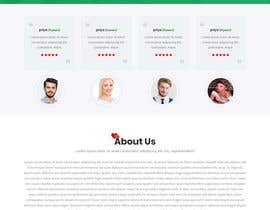 nº 23 pour Design of a landing page for DATING par arafathhshemanto