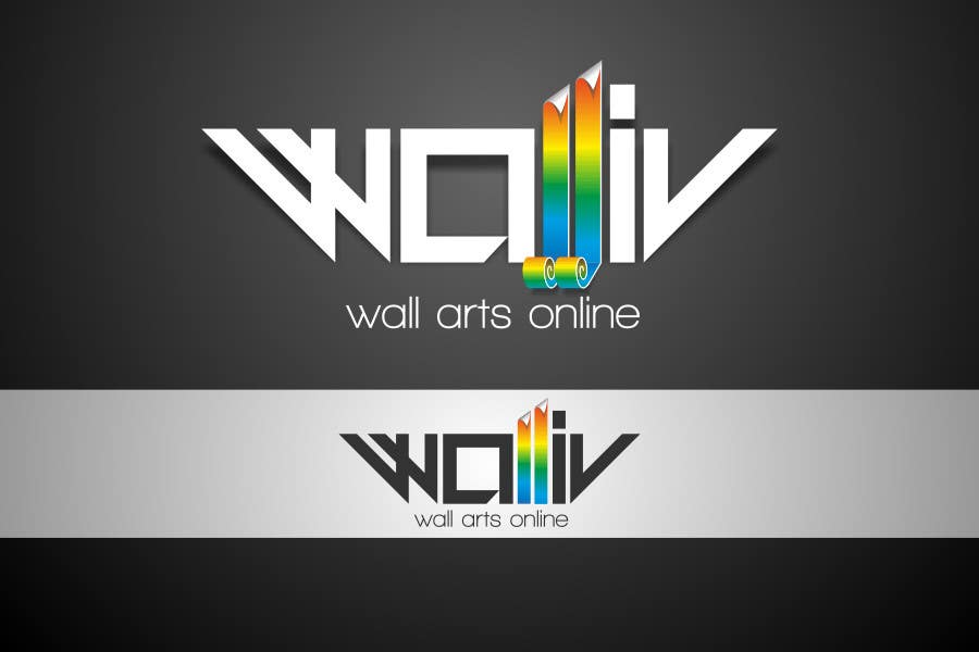 Contest Entry #                                        18                                      for                                         Logo Design for wall arts online store