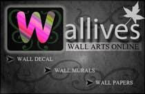 Logo Design for wall arts online store için Graphic Design57 No.lu Yarışma Girdisi