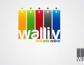 #55 para Logo Design for wall arts online store por taganherbord