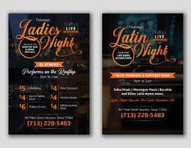 nº 26 pour Flyer for Bar Latin Night & Ladies night par pardessiaakash