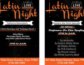 nº 30 pour Flyer for Bar Latin Night & Ladies night par baidda