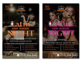 nº 27 pour Flyer for Bar Latin Night & Ladies night par adesign060208