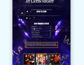nº 16 pour Flyer for Bar Latin Night & Ladies night par piashm3085