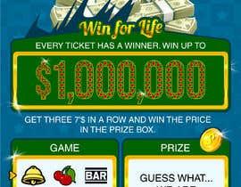 nº 20 pour Designing a Lotto Ticket par kalaja07