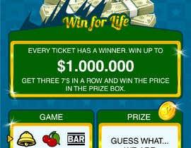 nº 21 pour Designing a Lotto Ticket par kalaja07