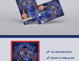 Nro 7 kilpailuun Sports Trading Card Design For Press Printing käyttäjältä claudiu152