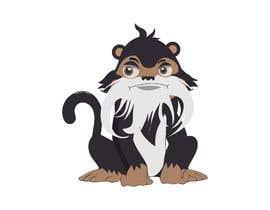 #6 untuk Make Cartoon Drawing of Face Of Tamarin Monkey oleh naythontio