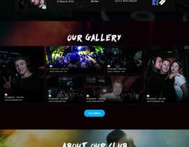 #8 for Simple website design and backend for eventcalender, gallery and form af saidesigner87