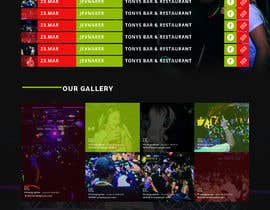 #9 for Simple website design and backend for eventcalender, gallery and form af saidesigner87