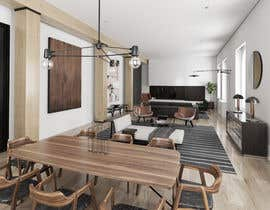 nº 9 pour Blender living room & interior 3D Design par deta3d2