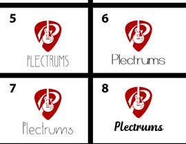 andreschacon218 tarafından I need a logo and cover photo for Facebook for my Plectrums business. için no 75