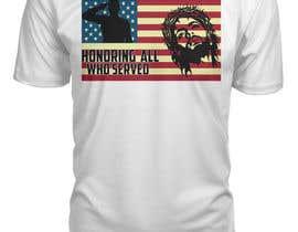 nº 8 pour Design Patriotic Tshirt Design par CKROY306