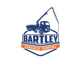 "#85 pentru Logo for ""Bartley Concrete Pumping"". Our concrete foundation business uses the Bartley Corp logo (see bartleycorp.com for more) Other pic are boom pump concrete examples. Use your creativity to perhaps combine a both pics & make it easy to read our name de către Designexpert98"