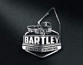 "Nro 87 kilpailuun Logo for ""Bartley Concrete Pumping"". Our concrete foundation business uses the Bartley Corp logo (see bartleycorp.com for more) Other pic are boom pump concrete examples. Use your creativity to perhaps combine a both pics & make it easy to read our name käyttäjältä Designexpert98"