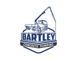 "#109 pentru Logo for ""Bartley Concrete Pumping"". Our concrete foundation business uses the Bartley Corp logo (see bartleycorp.com for more) Other pic are boom pump concrete examples. Use your creativity to perhaps combine a both pics & make it easy to read our name de către Designexpert98"