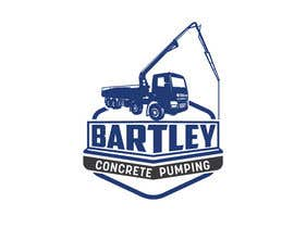 "#110 pentru Logo for ""Bartley Concrete Pumping"". Our concrete foundation business uses the Bartley Corp logo (see bartleycorp.com for more) Other pic are boom pump concrete examples. Use your creativity to perhaps combine a both pics & make it easy to read our name de către Designexpert98"
