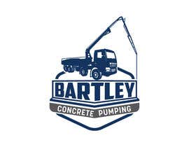 "#112 pentru Logo for ""Bartley Concrete Pumping"". Our concrete foundation business uses the Bartley Corp logo (see bartleycorp.com for more) Other pic are boom pump concrete examples. Use your creativity to perhaps combine a both pics & make it easy to read our name de către Designexpert98"