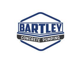 "#125 pentru Logo for ""Bartley Concrete Pumping"". Our concrete foundation business uses the Bartley Corp logo (see bartleycorp.com for more) Other pic are boom pump concrete examples. Use your creativity to perhaps combine a both pics & make it easy to read our name de către Designexpert98"