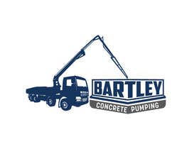 "#130 pentru Logo for ""Bartley Concrete Pumping"". Our concrete foundation business uses the Bartley Corp logo (see bartleycorp.com for more) Other pic are boom pump concrete examples. Use your creativity to perhaps combine a both pics & make it easy to read our name de către Designexpert98"