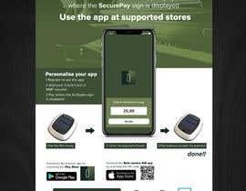 Nro 26 kilpailuun Flyer for an app download at a music festival käyttäjältä stylishwork