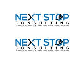 #716 for LOGO for: Next STOP Consulting by goldenrose3264