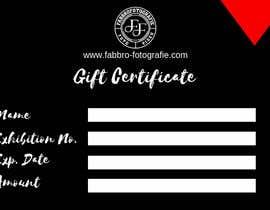 #15 untuk Design a matching gift certificate for my website. oleh Arghya1199