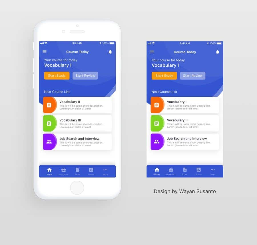 Contest Entry #                                        18                                      for                                         UI Design for Android mobile app — design me a home page first