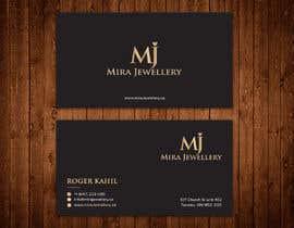 #86 untuk Design a Business Card for a Jewellery Company oleh aminur33