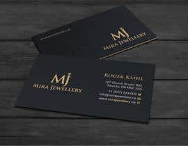 #98 untuk Design a Business Card for a Jewellery Company oleh wefreebird