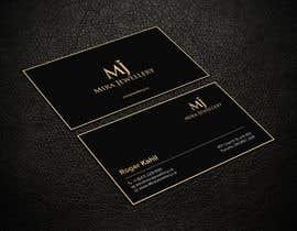 #26 untuk Design a Business Card for a Jewellery Company oleh SSarman88