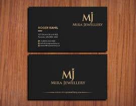 #52 untuk Design a Business Card for a Jewellery Company oleh SSarman88