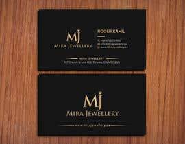 #80 untuk Design a Business Card for a Jewellery Company oleh SSarman88