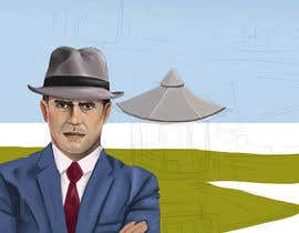"""Nro 27 kilpailuun I need a illustration for a musical production called """" Dear Mr Mayor"""". The gazebo being the main focus and the baseball field in the background with a gruff looking Mayor in the front left. käyttäjältä irefirus80"""