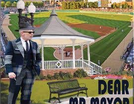 """Nro 7 kilpailuun I need a illustration for a musical production called """" Dear Mr Mayor"""". The gazebo being the main focus and the baseball field in the background with a gruff looking Mayor in the front left. käyttäjältä Rutabkhanam"""