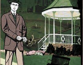 """Nro 30 kilpailuun I need a illustration for a musical production called """" Dear Mr Mayor"""". The gazebo being the main focus and the baseball field in the background with a gruff looking Mayor in the front left. käyttäjältä moshiur1995"""