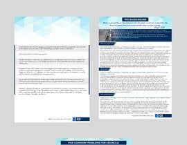 TH1511 tarafından Corporate PDF document - Whitepaper için no 5