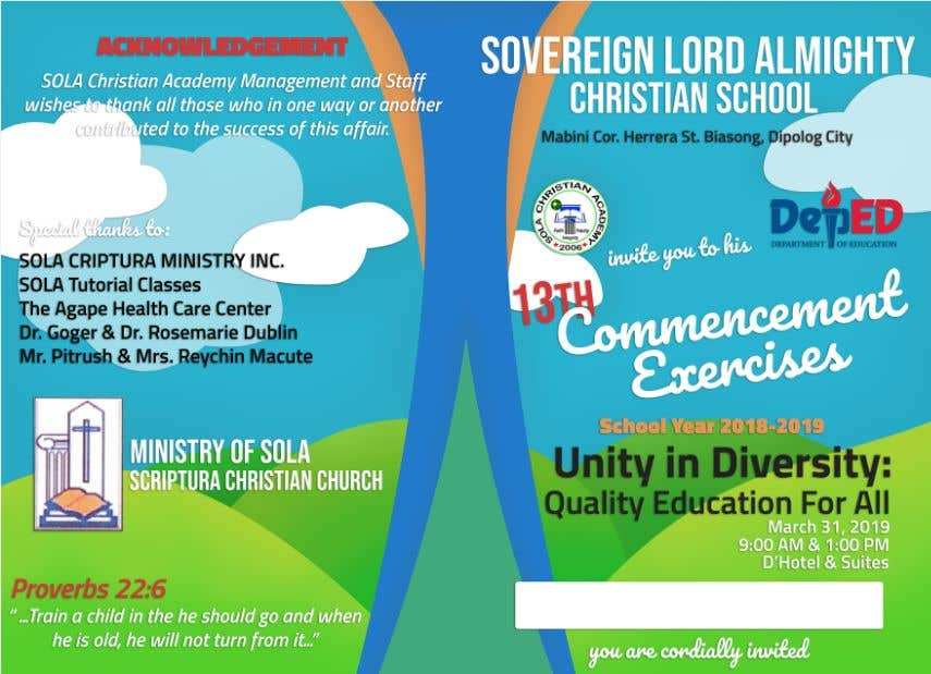 Contest Entry #25 for commencement exercises