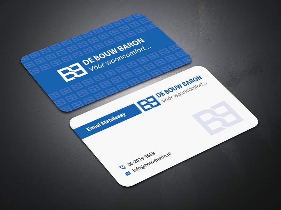 Inscrição nº 58 do Concurso para business card contractor