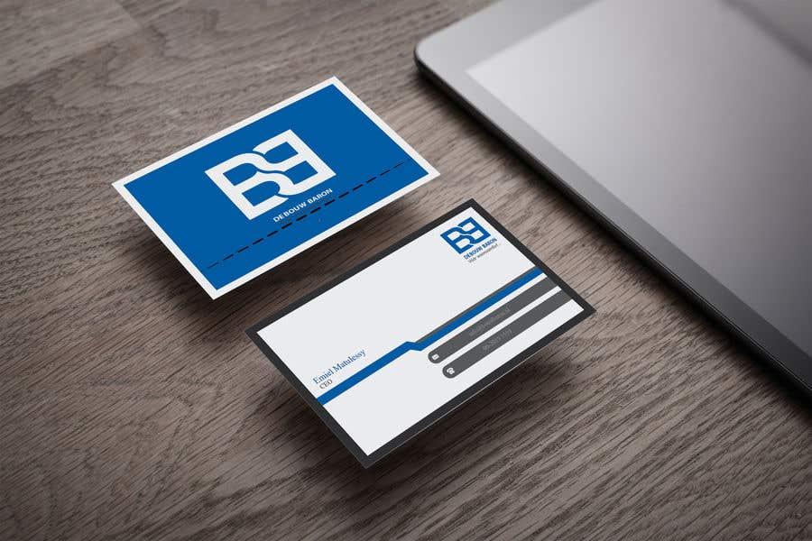Inscrição nº 245 do Concurso para business card contractor