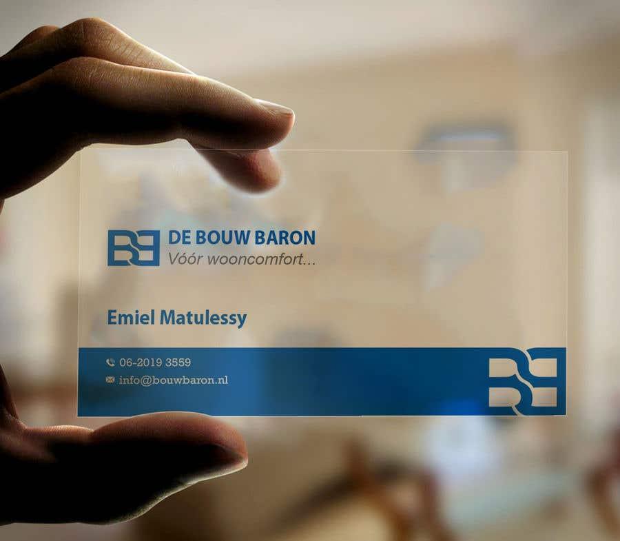 Inscrição nº 242 do Concurso para business card contractor
