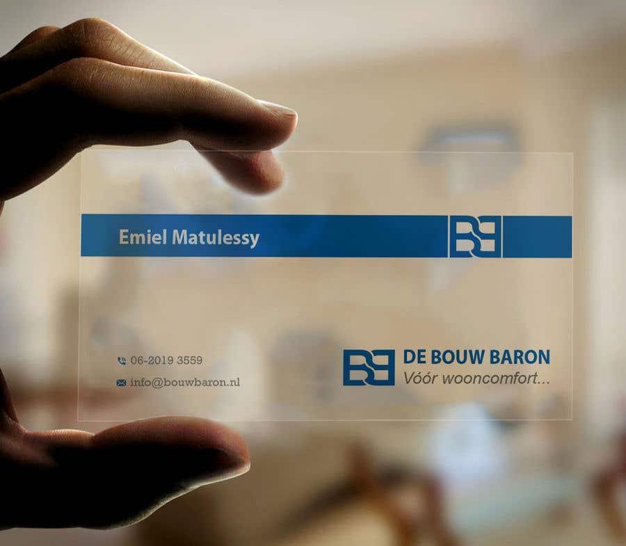 Inscrição nº 255 do Concurso para business card contractor