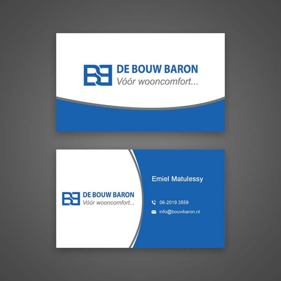 Inscrição nº 127 do Concurso para business card contractor