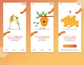 #22 pentru Illustrations for onboarding of a dating app de către sheulibd10