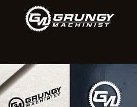 nº 20 pour Grungy Machinist Logo par fourtunedesign