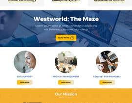 #13 для Homepage Mockup for IT Specialist от anusri1988
