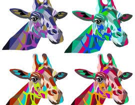 #2 para Create colored giraffe prints por Pandred