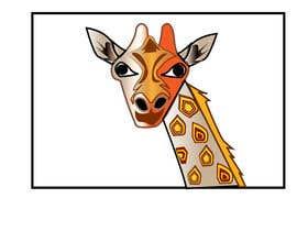 #1 para Create colored giraffe prints por diptidipti10
