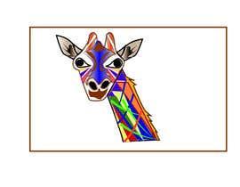 #4 para Create colored giraffe prints por diptidipti10